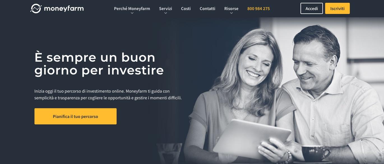b8abe5940f Questa piattaforma ti permette di costruire un portafoglio diversificato,  fondato sulla base delle tue reali propensione ai rischi ed esigenze a  costi ...