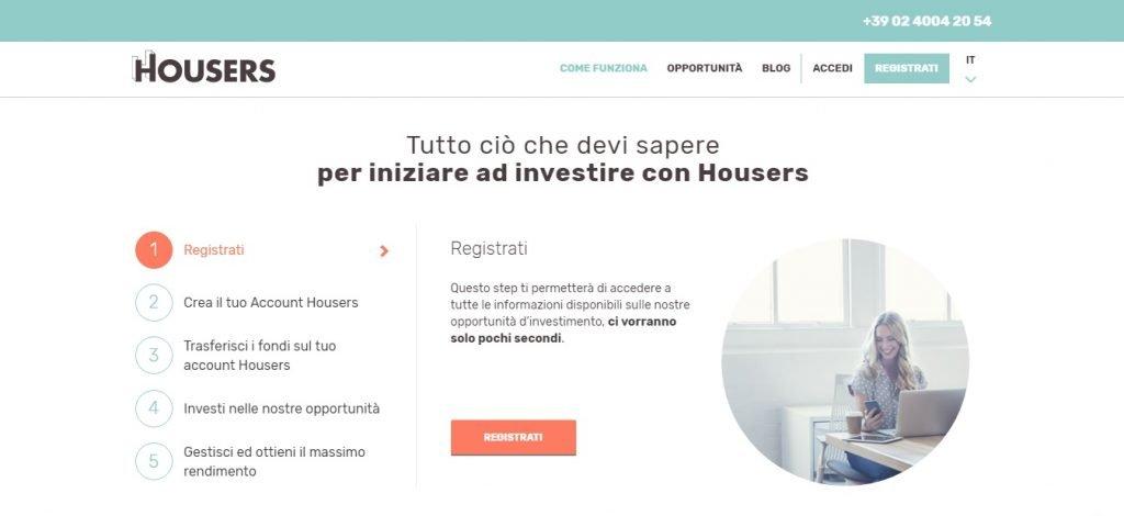 b5eccc1ae6 Housers, Piattaforma di Investimenti Immobiliari: Recensione Top
